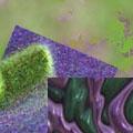 Зелено-фиолетовые туманы