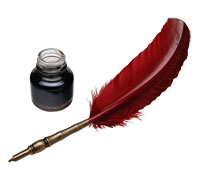 картинки перо ручка