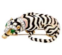 Тигр ювелирное украшение фото