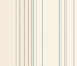 Обои - голубые и палевые полосы