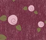 Обои - розовые бутоны на лиловом