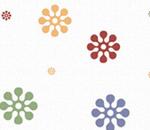 Обои - разноцветные цветы