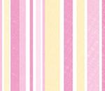 Обои - розово-желтые полосы