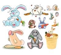 Зайцы нарисованные по детски