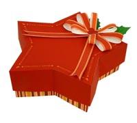подарочная коробка сапог.
